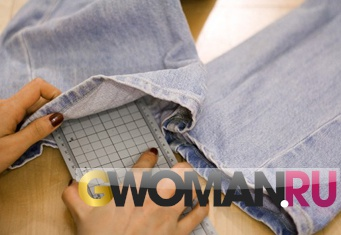 Как из.обычных джинс сделать рваные