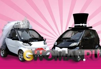 Шляпа на машину для свадьбы