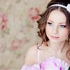свадебные прически для круглого лица